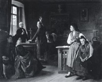 the oath by berthold woltze