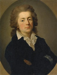 portrait of jan potocki by anton graff