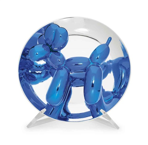 ballon dog blue by jeff koons