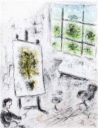 celui qui dit les choses sans rien dire by marc chagall