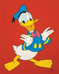 donald duck by louis lispi