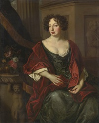portrait of lady essex (née rich) finch, later countess of nottingham by sir peter lely