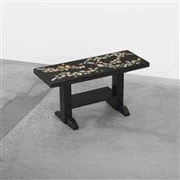 occasional table by etienne allemeersch