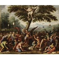 allegoria contro gli ecclesiastici by francesco caccianiga