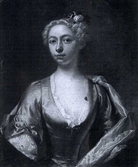 portrait of a lady by willem verelst