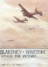 blakeney and wiveton, wings for victory june 19th to 26th 1943 by arthur gerald ackermann