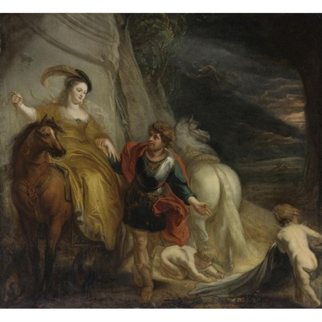 dido and aeneas by theodor van thulden