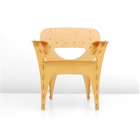puzzle armchair by david kawecki
