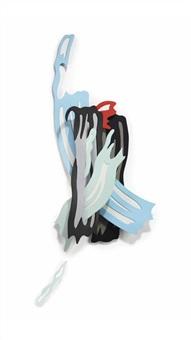 brushstroke iv by roy lichtenstein