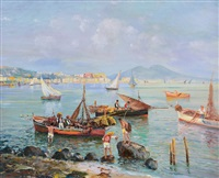 marina di mergellina by antonio perciavalle
