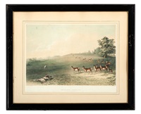 antelope shooting by george catlin