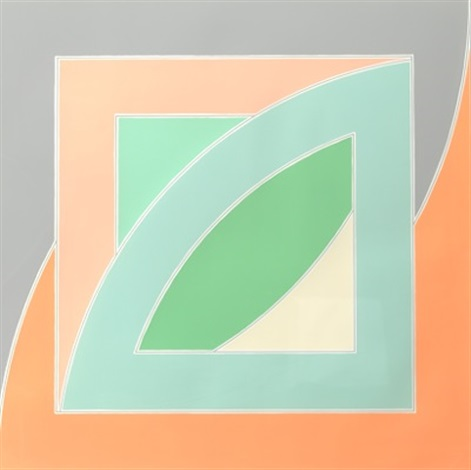 river of ponds iv from newfoundland series by frank stella