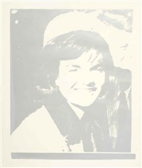 jacqueline kennedy i (jackie i), from 11 pop artist's i by andy warhol