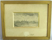 le voilier dans la tourmente by aleksei petrovich bogolyubov