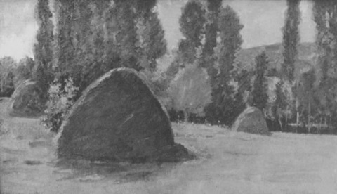 haystacks by theodore wendel