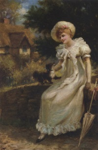 a summer's rest by herbert sidney percy