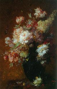 vase de fleurs by auguste jouve