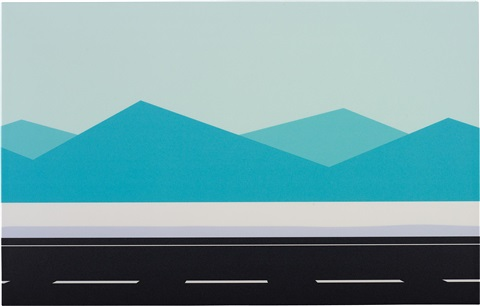 roadscape 19 by julian opie
