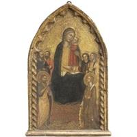madonna col bambino e santi by niccolò di tommaso