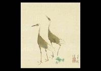 twin cranes by kayo yamaguchi