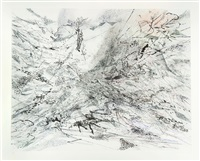 the residual by julie mehretu