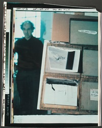 for dave (self-portrait one) by robert frank