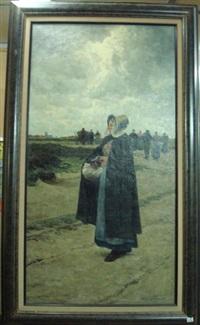 le retour des champs by franz van lemputten