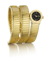 tubogas lady's wristwatch by bulgari