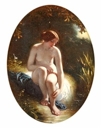 the naiad by william edward frost