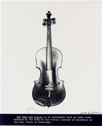 tape bow violin by laurie anderson