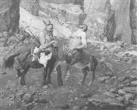 zwei kentauren by fritz koch-gotha