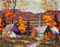 coloris d'automne by claude langevin
