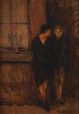 deux femmes au port danvers by walter vaes