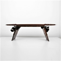 console table by albert paley