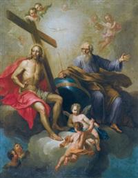die heilige dreifaltigkeit by daniel gran