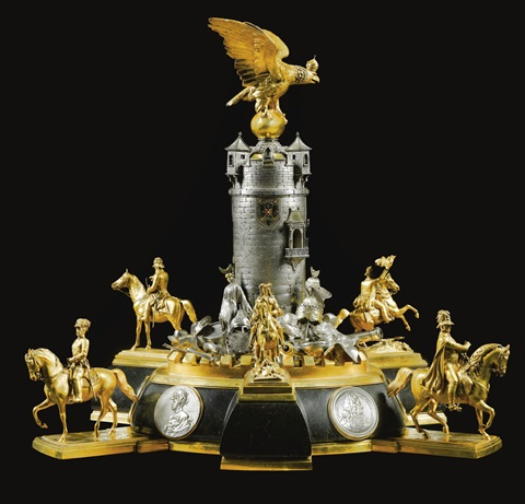 centrepiece after design by caspar von zumbusch by theodore heiden