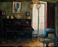 interior con piano by amalia avia