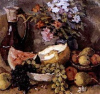 nature morte by nikolai maksimovich melnikov