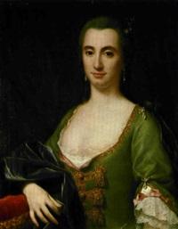 ritratto di gentildonna by sebastiano ceccarini