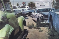 albuquerque wreck yard (sandia auto electric) by john salt
