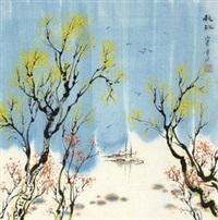 秋江 by liu baochun