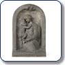 bas relief représentant une mère et son enfant by emile muller