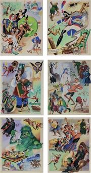 episodi illustrati della storia di pinocchio by angiolo lemmi