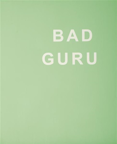 bad guru by adam mcewen