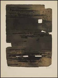 composition #5 by pierre soulages