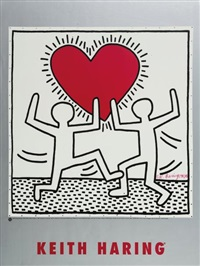 affiche sans titre by keith haring