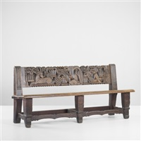 bench by edgar miller