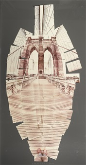the brooklyn bridge by david hockney
