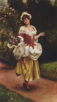 an english rose by herbert sidney percy