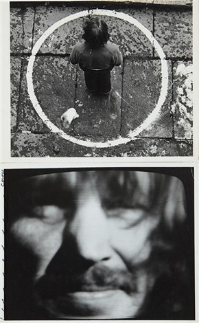 rocked circle - fear (2 works) by dennis oppenheim